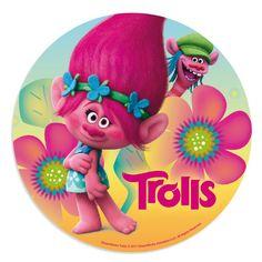 Oblea para tarta de los Trolls, de 20 cms, en dos modelos distintos, para que puedas hacer tu tarta casera de cumpleaños  #trolls #cumpleañostrolls #fiestatrolls #decoracionfiestatrolls #trollspartydecorations #trollsbirthday #globostrolls #trollsparty #decoraciondefiestas #fiestatematica #fiestasbonitas #reposteriacreativa #fondant #cupcakes #cortapastas #wilton #instacakes #fondantcakes #birthdaycake #birthdaycakes #tartadecumpleaños #tortadecumpleaños