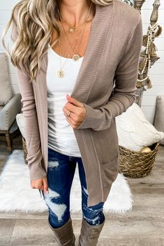 One of My Kind Cozy Cardigan (Mocha) Simply Me Boutique Sezzle Free Shipping – Simply Me Boutique