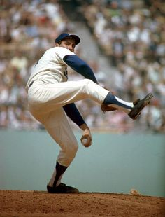 Sandy Koufax, Los Angeles Dodgers so glad I got to see him pitch when I was a kid
