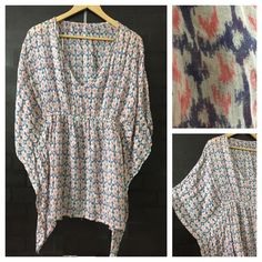Hurry before stock runs out: Pretty Pink and B..., visit http://ftfy.bargains/products/pretty-pink-and-blue-kaftan-style-top-1?utm_campaign=social_autopilot&utm_source=pin&utm_medium=pin  #amazing #affordable #fashion #stylish