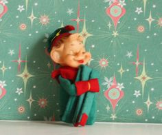 Vintage Elf from verykitchychristmas