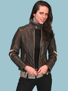 Someday, I will own this scully leather wolverine style jacket :)