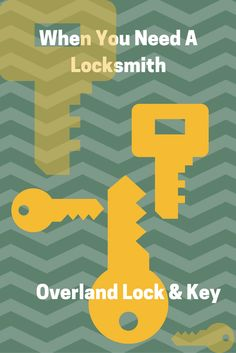 Call Overland Lock & Key at 913-648-2929 when you need a locksmith. Contact Tom McChesney with Keller Williams Key Partners at 913-908-2453 or Tom@TomSellsKC.com when you need real estate services.