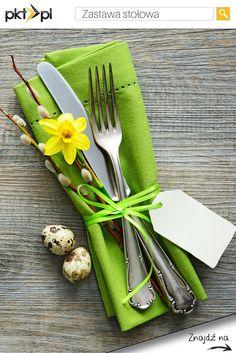 Prosty sposób na udekorowanie Wielkanocnego stołu. :)