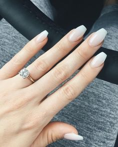 Barely-There Ombre - The Prettiest Wedding Nails For Your Big Day - Photos