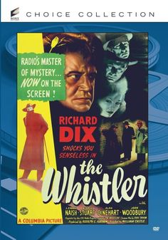 The Whistler - DVD (Sony Choice Collection Region 1) Release Date: Available Now (Amazon U.S.)