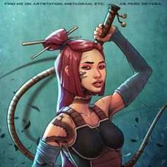 Dragon Saiyan. Character for The Saiyans Series project by Pere Devesa.