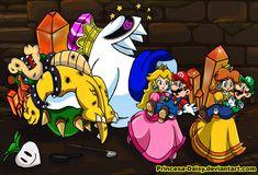 Luigi and Daisy - Awkward date by Princesa-Daisy on DeviantArt Super Mario Bros, Super Mario 1985, Super Mario Princess, Super Mario Brothers, Mario Y Luigi, Mario Run, Mario Kart, Princesa Daisy, Luigi And Daisy
