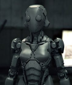Wife, by Arda Koyuncu.More robots here.
