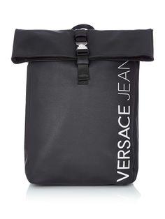 Versace Versace Jeans Logo Backpack - House of Fraser Versace Versace, Versace Jeans, House Of Fraser, Luggage Sets, Hermes Kelly, Backpacks, Logo, Shopping, Design