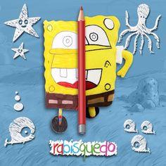 www.rabisquedo.com.br brinquedo personalizado Bob Esponja Rabisquedo