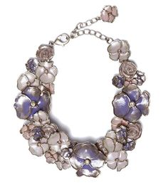Lavender Flower Necklace, Chanel Resort 2013 Collection