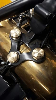 Made in brass by Tecnicad bike Division www.prototecnicad.it