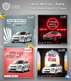 Social Media Designs V3 on Behance Hyundai Accent, Social Media Design, Graphic Design Inspiration, Marketing And Advertising, Behance, Balloon, Bliss, Banner, Posters