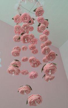 Felt Rose Mobile