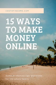 In this post I will share 15 ways how to make money from home, make money online, ways to make money from home make money fast and much more! #makemoney #online #onlinemoney #moneyfromhome Make Money From Home, Way To Make Money, Make Money Online, How To Make, Money Fast, Itinerary Planner, Whatsapp Messenger, Get Out Of Debt, Day Hike