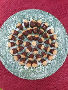 Chocolate acorn