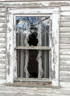 Window in old house near Blue Ridge, GA