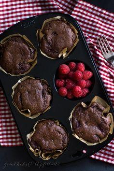 Gesunde Schoko-Himbeer-Muffins - Zimtkeks und Apfeltarte
