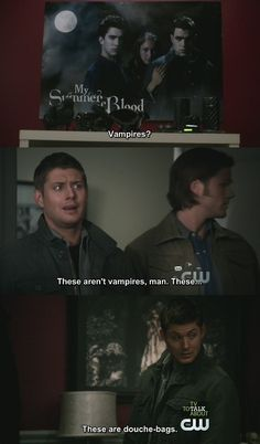 When we heard that line, my dad and I had to pause the show so we could laugh hysterically