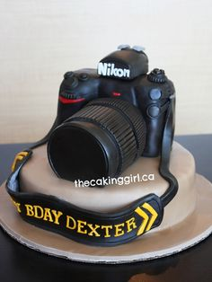 Nikon Camera Cake! | Visit my Blog at www.TheCakingGirl.com!… | Flickr