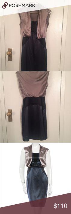 Diane Von Furstenberg Elegant DVF silk pencil dress - US 2 - Very Good Condition Diane von Furstenberg Dresses Midi