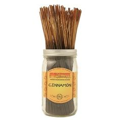 """Wildberry 10"""" Cinnamon - Part of the Wildberry Holiday and Spicy Fragrance Families. Pack of 12 sticks for only £2. Buy now at Clouds Online UK stockist."""
