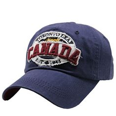 0dc0075024c61 Unisex Vintage Washed Cotton Baseball Cap Fitted Hats Canada Embroidered  Snapback Trucker Hat Forwardor http  · Mens ...