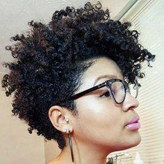 Más de 30 estilos de cabello corto para cabello natural