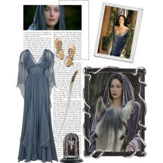 Arwen - Lord of the Rings outfit! Pretty!