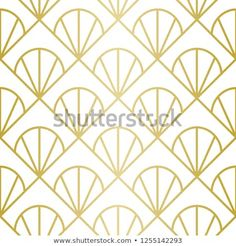 Luxury Geometric Pattern Seamless Vector Lines Stock-Vektorgrafik (Lizenzfrei) 1255142293 Golden Pattern, Geometric Lines, Background Patterns, Royalty Free Stock Photos, Graphic Design, Luxury, Illustration, Pictures, Image