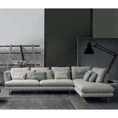 Divano angolare di design Lars di Bonaldo - ARREDACLICK