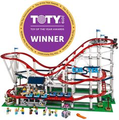 online shopping for LEGO Creator Expert Roller Coaster 10261 Building Kit Pieces) from top store. See new offer for LEGO Creator Expert Roller Coaster 10261 Building Kit Pieces) Lego Building Blocks, Building Toys, Building Art, Lego Creator, Expo Lego, Construction Toys For Boys, New Roller Coaster, Buy Lego, Lego Models