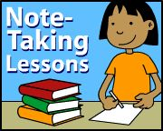 Education World: Take Note: Five Lessons for Note Taking Fun | Includes nonfiction texts to download, objectives, materials...the works!