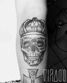 #Skull #Skulltattoo #Small #King #Smallking #Crown #Etching #Forearm #Tattoo #Illustration #Tattooillustration #Eye #Dots #Dotwork #Dotsandlines #Dotsandlinestattoo #linework #lines #linetattoo #Engraving #Geometric #Geometrictattoo #Black #Blackwork #Blackink #ink #blackink  #Virago #Berlin https://www.facebook.com/laura.virago