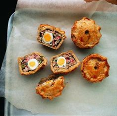 "Mini Pork and Pancetta Pie ""Cupcakes"" by Project Foodie"