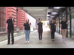 """Never Tear Us Apart"" by INXS. Interpreted and performed by Jordan Thomas, Kevan Hendry, Tegan McMinigal, Jayde Wishart and Clare Housley. Sign Language Songs, Australian Sign Language, Jordan Thomas, Michael Hutchence, It Hurts, Competition, Signs, Youtube, Graduation"