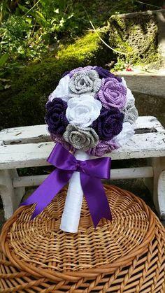 Crochet wedding bouquet  my work