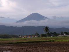 Gunung tertinggi ketiga di pulau Jawa. GUNUNG SUMBING. Dilihat dari KALINEGORO, KAB.MAGELANG. JATENG. Mount Rainier, Mountains, Nature, Travel, Naturaleza, Viajes, Destinations, Traveling, Trips