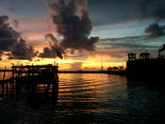 Sunset at Pobsa, Makassar. Its a good time to spend your day and having a drink in front of sunset