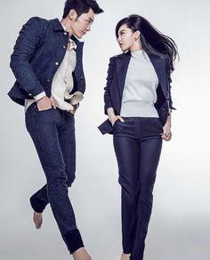 Chinese actors Fan Bingbing and Li Chen