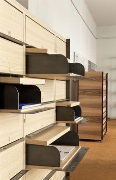 Dessié / Calvet Multiple purpose Office Mailboxes, Office Lockers, Storage Cabinets, Storage Shelves, Shelving, Shelf, My Furniture, Furniture Design, Mail Room