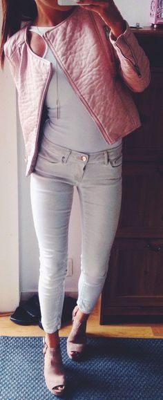 Touch Of Pink Casual Outfit