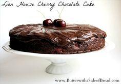 Lion House Cherry Chocolate Cake on MyRecipeMagic.com