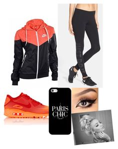 """""""Untitled #18"""" by dachiri ❤ liked on Polyvore featuring NIKE, Casetify and Zella"""