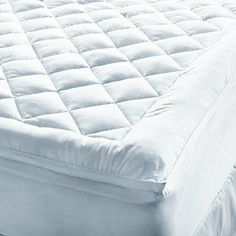 MY Collection Level 5 Full 600T Supreme Mattress Pad by At Home. $228.95. Gel fiber top with an 18 oz. puffball polyester fill.. My Mattress Pad level 5 supreme luxury full-size mattress pad.. Measures 54 x 75 inches, skirt fits up to 24 inch mattress.. 600 thread count cotton cover.. Stain resistant.. Thanks to a breakthrough in fabric technology, this soft cotton cover is highly water and stain resistant, without compromising the hand of the cloth. An extremely long ...