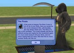 #TheSims3 #TheSims @Katarina Marjanovic Marjanovic Alves I GOT THIS MSG ONLY ONCE!