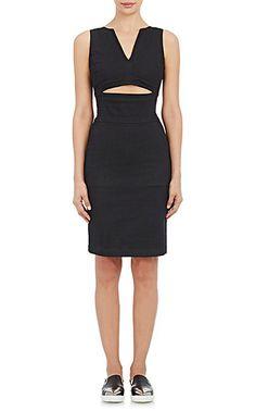 Tomas Maier Denim Cutout Dress - Short - Barneys.com
