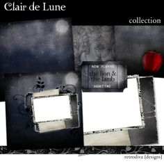 Clair de Lune -  Digital Scrapbooking Freebie