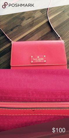 Kate Spade Pink Crossbody bag Pink Crossbody bag kate spade Bags Crossbody Bags